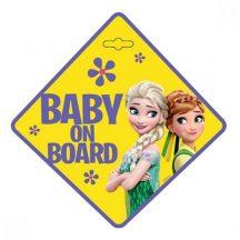 Disney Frozen, Jégvarázs baby on board tábla
