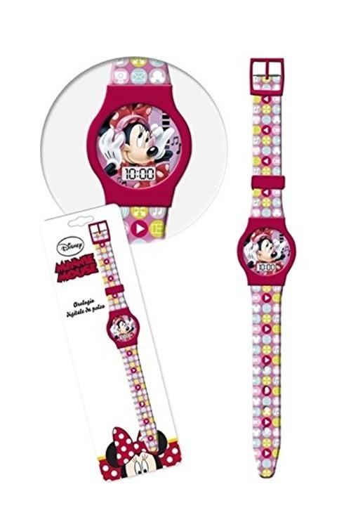 Disney Minnie Karkötőóra - MiniOrszág Baba-Mama Webáruház dd28c5a565