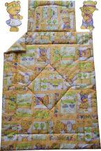 Bölcső, baba ágynemű garnitúra (paplan+párna) I. kategóriás kevert szálas anyagból - több mintából választható