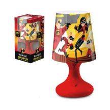 Mini LED Lámpa Disney The Incredibles, A Hihetetlen család piros talppal
