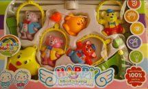 Happy Chappie zenélő kiságyforgó, apró barátok