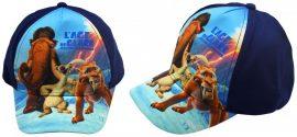 Ice Age, Jégkorszak gyerek baseball sapka, 52 cm, sötétkék