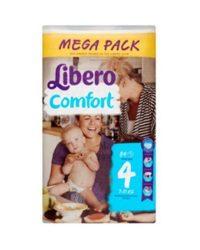 Libero Mega pack 4 Maxi: 7-11 kg 84 db