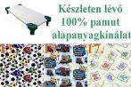 Óvodai - Ovis sarokgumis szegett lepedő: 55x130 cm 100% pamut