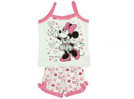 Disney Minnie 2 részes baba/gyerek nyári szett (Méret: 104) *