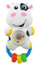 Baby Mix hangot adó, világító állatos csörgő - boci
