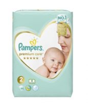 Pampers Premium Care 2 Mini: 3-6 kg 68 db