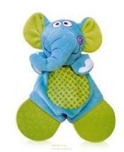Baby Care elefántos kendő, rágókával