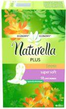 Naturella Plus tisztasági betét, 58 db-os, Super Soft, Körömvirág