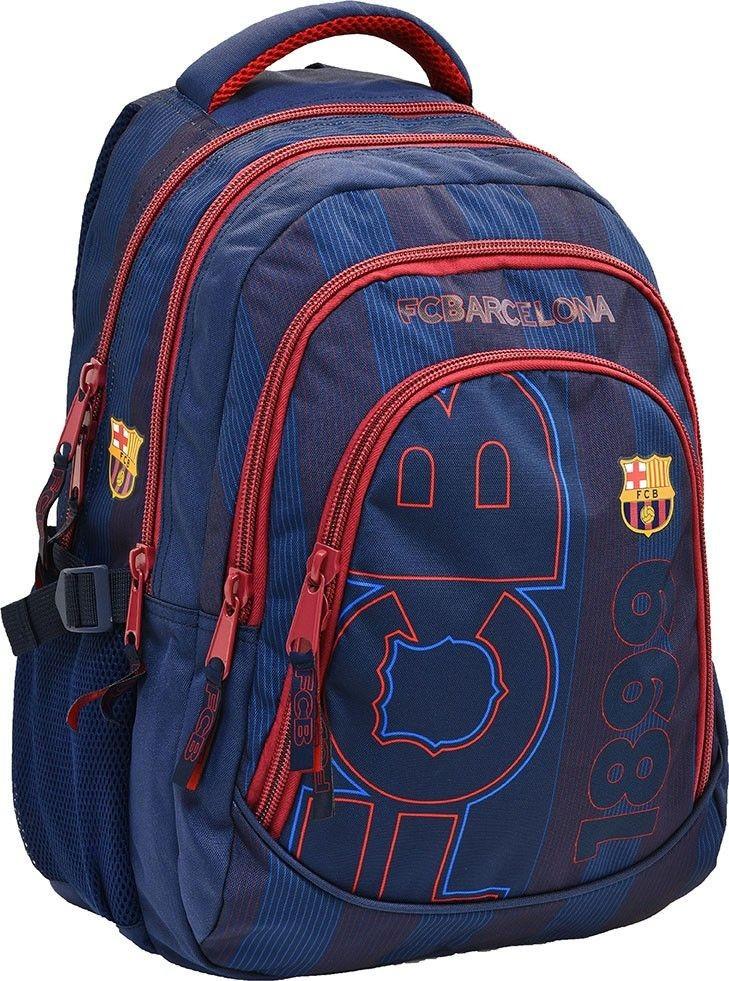 7aefbbdb9ed8 FC Barcelona hátizsák, iskolatáska 45x30x20cm, kék - MiniOrszág Baba ...