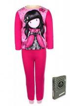 Santoro Gorjuss mintás kislány pizsama (Méret:104-140 cm)