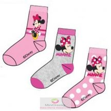 Gyerek zokni Disney Minnie 3 pár 27-30