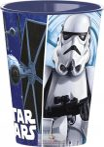 Star Wars pohár, műanyag