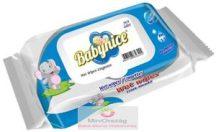 Babynice antibakteriális törlőkendő, kupakos, 120 lapos