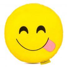 Nyelves Emoji Párna 32 cm