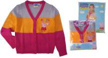 Peppa pig, Peppa malac gyerek pulóver, kardigán (Méret: 98-128cm)