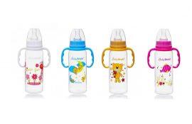 Baby Bruin cumisüveg fogóval 240 ml *