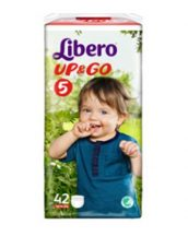 Libero UP&GO bugyipelenka 4 Maxi: 7-11 kg 44 db