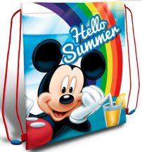 Disney Mickey Sporttáska tornazsák 40 cm Hello Summer!