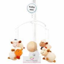 Babymix zenélő körforgó kiságyra - bárányok