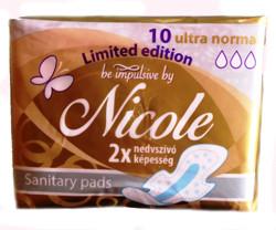 Be Impulsive by Nicole egészségügyi betét, 10 db-os, ultra normál