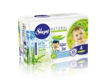 Sleepy Natural bugyipelenka, 4 Maxi, 7-14 kg, 30 darab