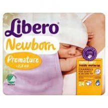 Libero Newborn 0 Newborn: 0-2,5 kg 24 db