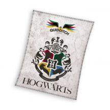 Harry Potter polár takaró, ágytakaró 130x170cm Hogwarts
