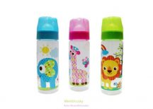 Baby Care cumisüveg Zoo 250 ml