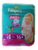 Pampers UP&GO  4 Maxi Boy/ Girl 9-14 kg 16 db