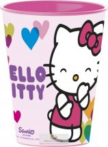 Hello Kitty pohár, műanyag 260 ml