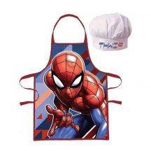 Spiderman, Pókember Gyerek kötény 2 darabos szett, kék