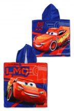 Disney Cars, Verdák strand törölköző poncsó 55*110cm, LMQ