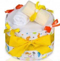 LUX pelenka torta, nagy Zsiráfok