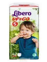 Libero UP&GO bugyipelenka 5 Maxi +: 10-14 kg, 42 db