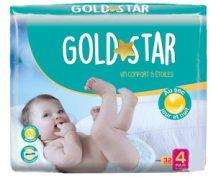 Gold Star nadrágpelenka 2 Mini 3-6 kg 38 db