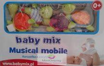 Babymix zenélő körforgó kiságyra - teknősök