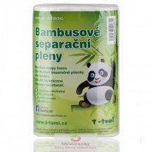 Bambusz pelenkabetét, 15x30 cm, 100 db/tekercs