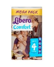 Libero Mega pack 5 Maxi+: 10-16 kg 80 db