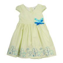 Masnis ujjatlan halványzöld nyári ruha