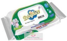 Babynice antibakteriális, kupakos, 72 lapos