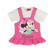 Disney Minnie két részes baba ruha (méret: 56-80)
