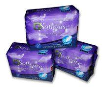 Soft Clean Care egészségügyi betét 8 db, Night
