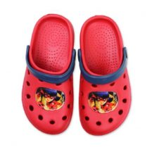 Miraculous Ladybug gyerek papucs, piros