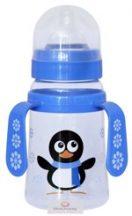 Baby Care szélesnyakú cumisüveg fogóval, 150 ml