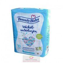 Beauty Baby eldobható pelenkázó alátét 60×60 cm 10 db-os
