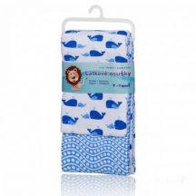 Pamut törölköző 2 db/csomag - Kék Óceán