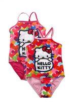 Hello Kitty lányka fürdőruha pink