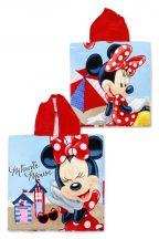Disney Minnie törölköző poncsó 55*110 cm Minnie a parton!