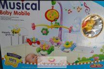 Musical Baby Mobile Zenélő körforgó kiságyra - csiga-bigás változat